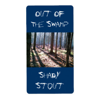 Homebrew Twilight Shadows Forest Trees Swamp Label