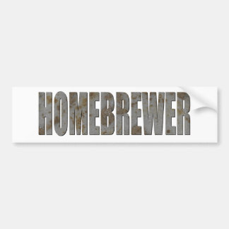 Homebrewer Bumper Sticker