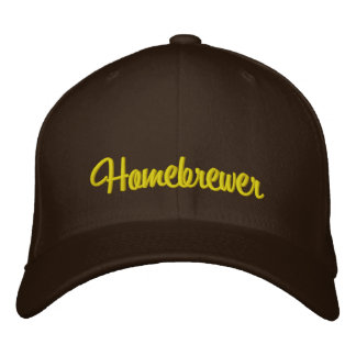 Homebrewer Embroidered Baseball Cap