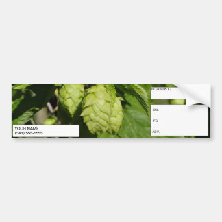 Homebrewer's Corny Keg Label