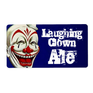 Homebrewing Beer Bottle Labels Laughing Clown Ale