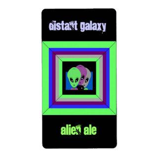 Homebrewing Beer Homebrew Labels Alien Space Ale