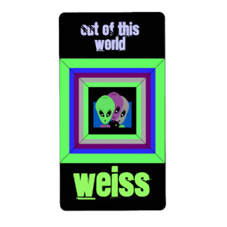 Homebrewing Beer Homebrew Labels Alien Space Weiss