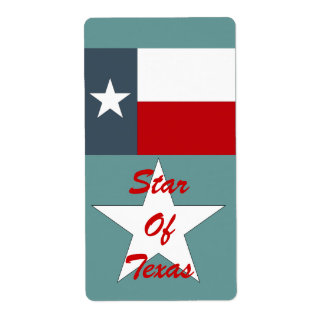Homebrewing Brewing Beer Bottle Labels Texas Star