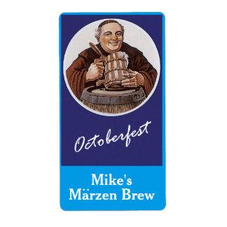 Homebrewing etiqueta el Brew Oktoberfest de Marzen Etiquetas De Envío