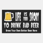 Homebrewing o elabora cerveza a su propio pegatina