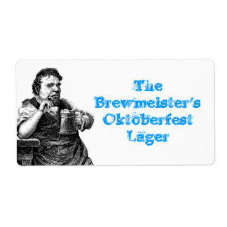 Homebrewing suministra etiquetas del brew casero d etiqueta de envío