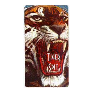 Homebrewing Supplies Beer Brewing Label Tiger Spit