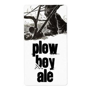 Homebrewing Supplies Beer Plow Boy Ale Field Label