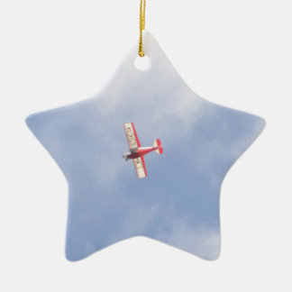 Homebuilt Airplane Ceramic Ornament