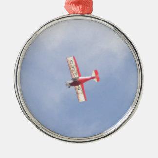 Homebuilt Airplane Metal Ornament