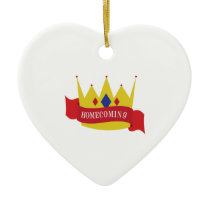 Homecoming Ceramic Ornament