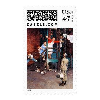 Homecoming G.I. Postage