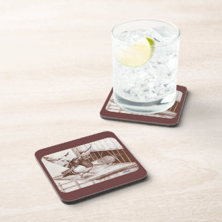 Homecoming Homers Beverage Coaster