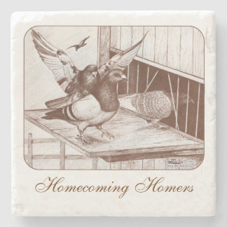 Homecoming Homers Stone Coaster