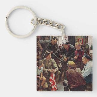 Homecoming Marine Keychain
