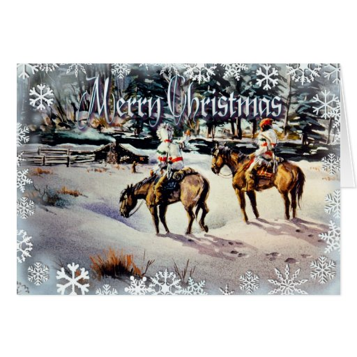 HOMECOMING MERRY CHRISTMAS by SHARON SHARPE Card