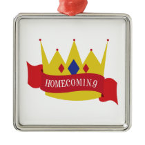 Homecoming Metal Ornament