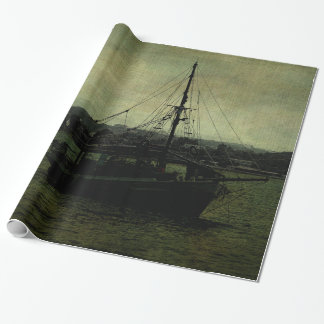 Homecoming Pirate Wrapping Paper