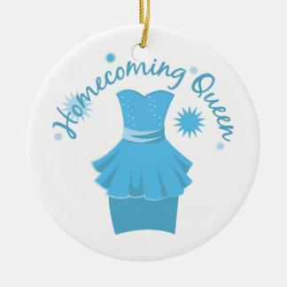 Homecoming Queen Ceramic Ornament