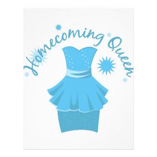Homecoming Queen Letterhead