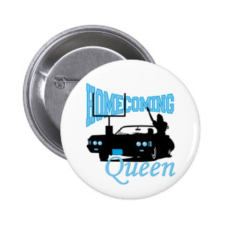 Homecoming Queen Pinback Button