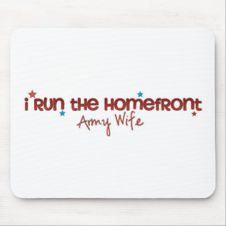 Homefront Wife Mouse Pad