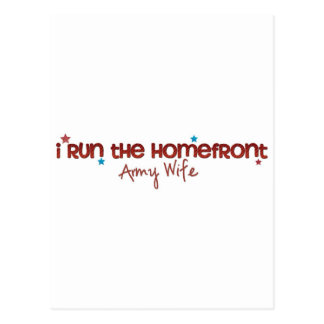 Homefront Wife Postcard