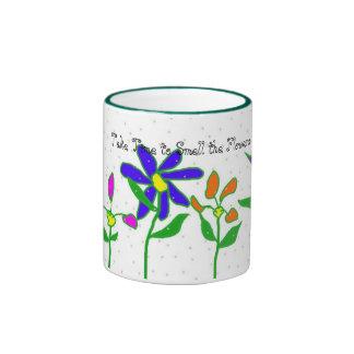 Homegrown Flowers Coffee Mugs
