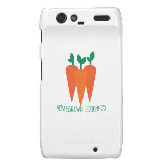 Homegrown Goodness Droid RAZR Cases