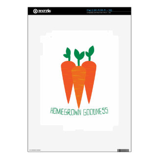 Homegrown Goodness Skin For iPad 2