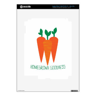 Homegrown Goodness Decal For iPad 3