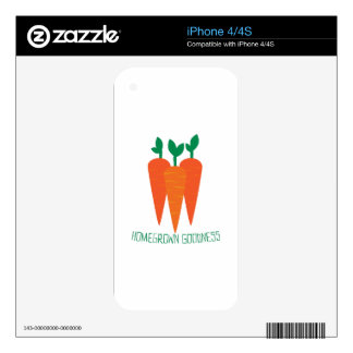 Homegrown Goodness Skins For iPhone 4