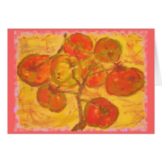 homegrown tomatoes cards