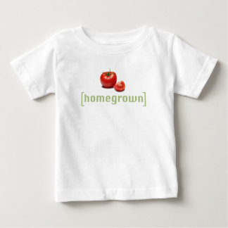 HomeGrown Tomatoes Funny Vegetable Gardener Pun Baby T-Shirt