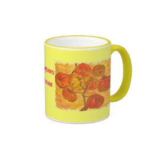 homegrown tomatoes mugs
