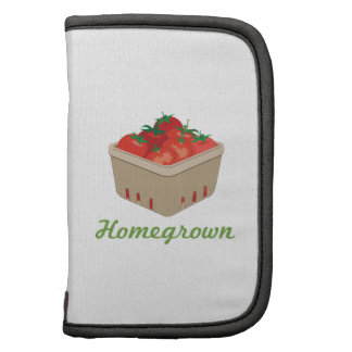 Homegrown Tomatoes Folio Planner