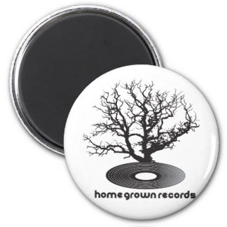 Homegrown Tree 2 Inch Round Magnet