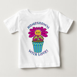Homegrown with Love Baby T-Shirt