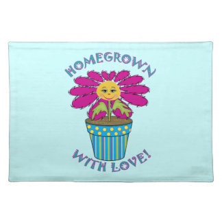Homegrown with Love Cloth Placemat