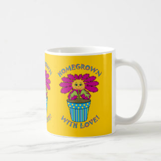 Homegrown with Love Classic White Coffee Mug