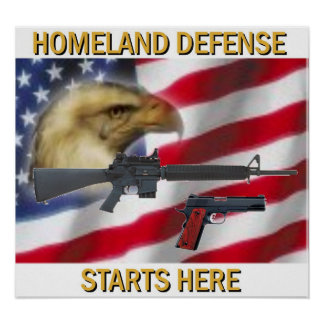 Homeland Defense Poster