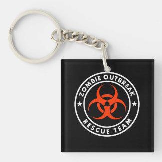 homeland outbreak  rescue team keychain