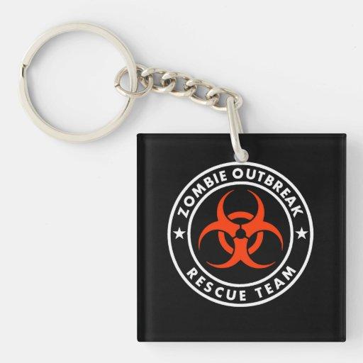 homeland outbreak  rescue team acrylic keychains