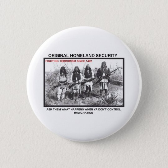 Homeland Security 1492 Button
