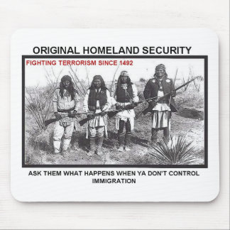 Homeland Security 1492 Mouse Pad