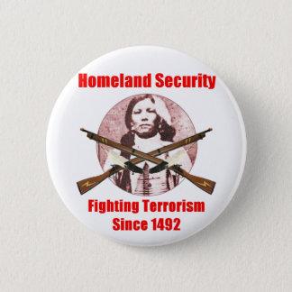 homeland security-1 pinback button