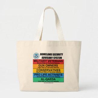Homeland Security Advisory Tote Bag