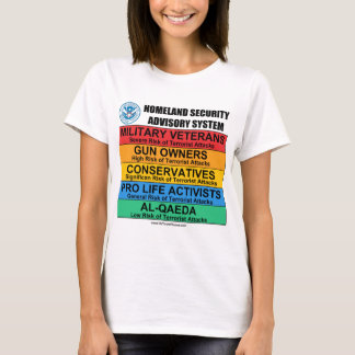 Homeland Security Advisory T-Shirt