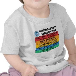 Homeland Security Advisory T Shirt